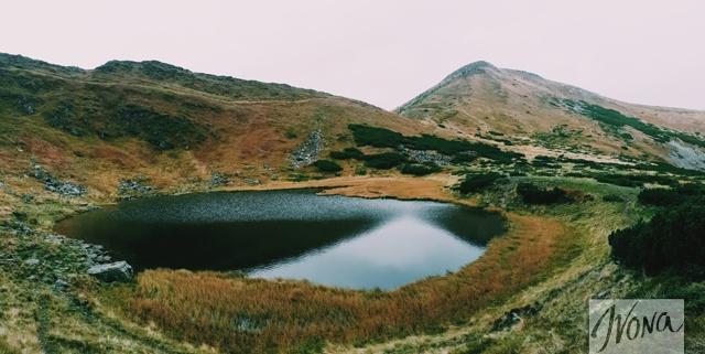 Озеро Неистовое, 1750 м над урвонем моря