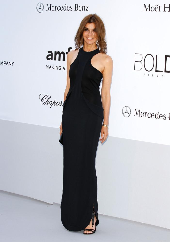 Карин Ройтфельд – экс-главный редактор французской версии журнала Vogue