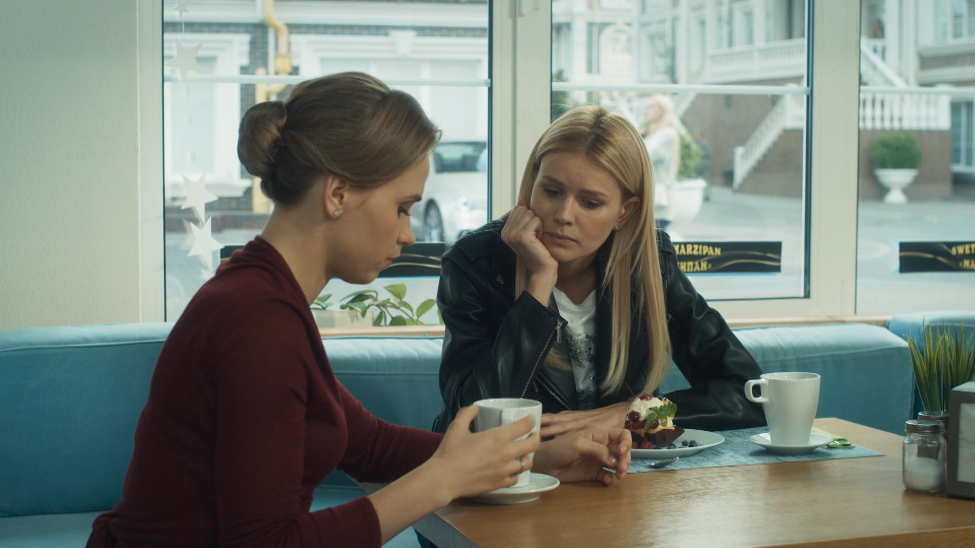 Актриса Анна Кошмал и Катя Кузнецова - Тень звезды
