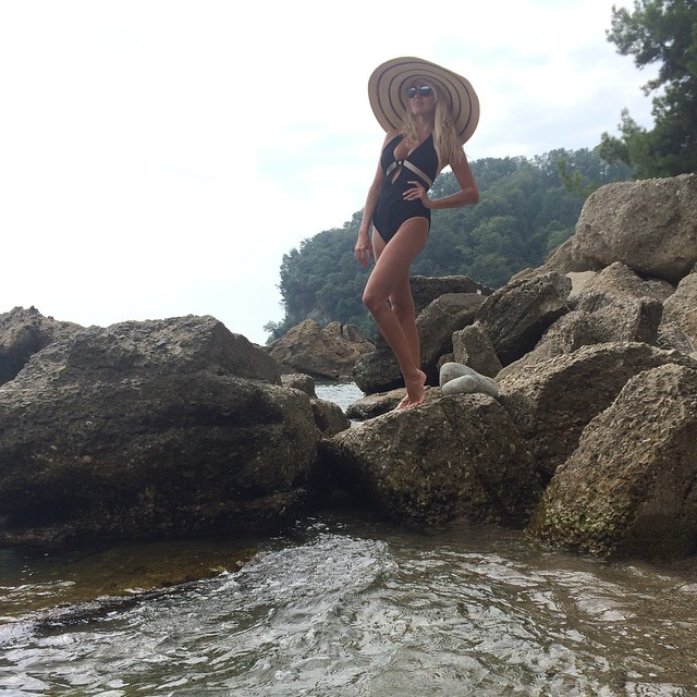 Ice Bucket Challenge: Яна Рудковская