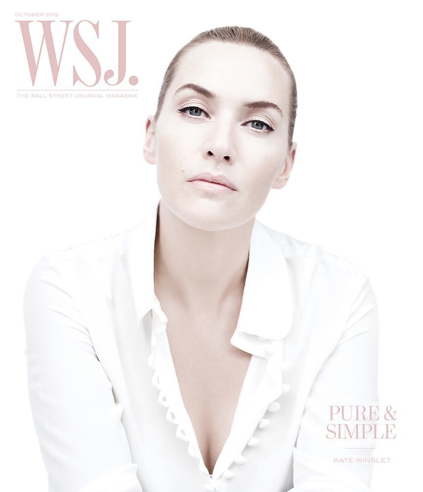 Кейт Уинслет в фотосессии для издания WSJ