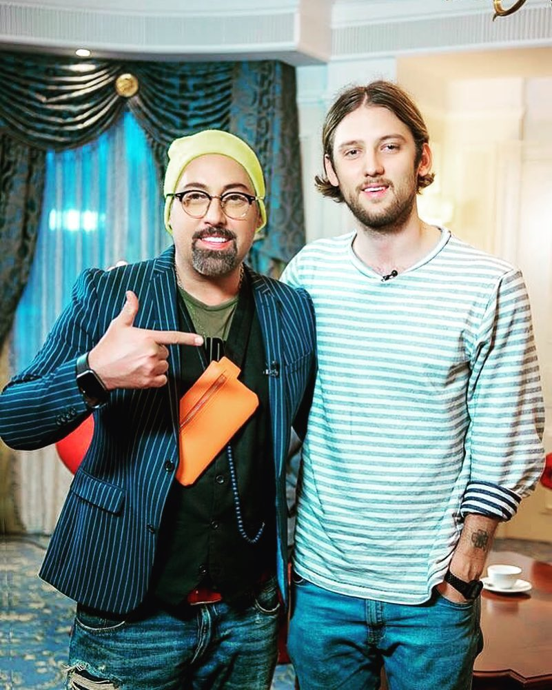 Дмитрий Коляденко с сыном