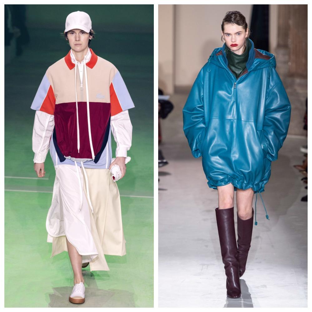 Lacoste, Salvatore Ferragamo и Dior тоже не смогли устоять перед лаконичностью и простотой анораков
