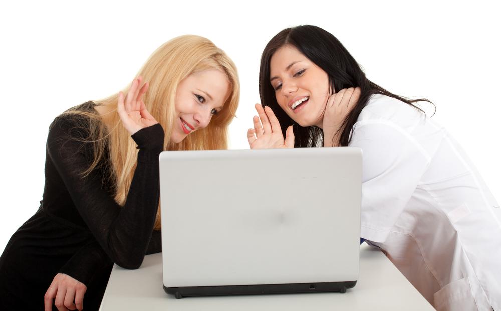Виртуальное сексуальное общение с женщиной