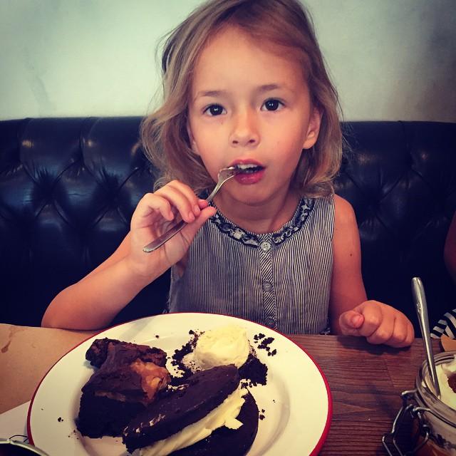 Дочь Лизы Ющенко Варвара