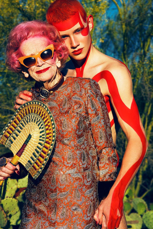 90-летняя Бетти Бейли даст фору молодым моделям