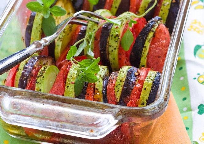 Тушёные овощи в духовке рецепты