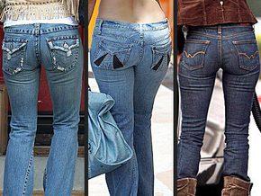Вспоминаются мамины рассказы, как она в кастрюле джинсы себе варила (вот...
