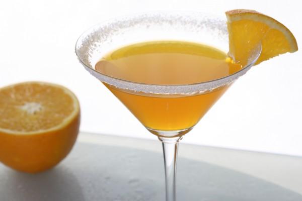 Рецепт                  Апельсиновый мартини
