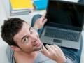 Офисные работники развлекаются просмотром порно