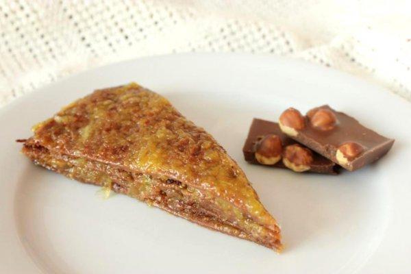 Рецепт                  Шоколадный блинчатый торт с апельсиновым джемом