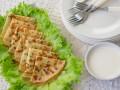 Как приготовить блины с зеленью (видео)