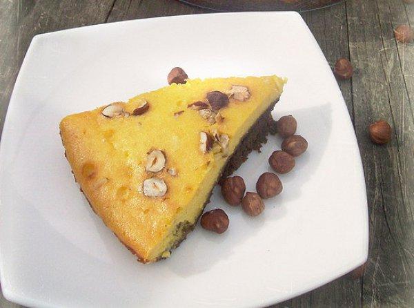 Рецепт                  Тыквенный чизкейк с лесными орехами