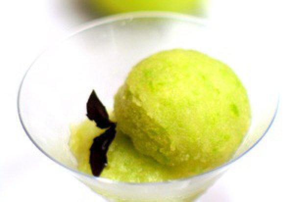 Рецепт                  Яблочное сорбе