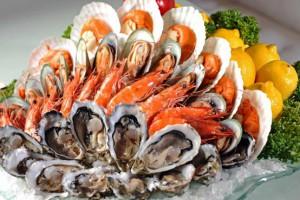 Морепродукты следует употреблять не чаще двух раз в неделю