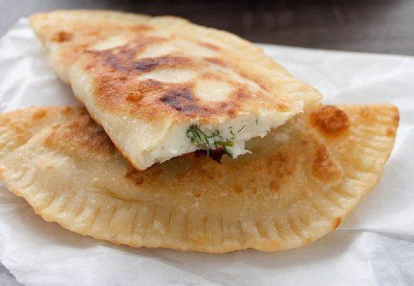 Рецепт                  Готовим чебуреки с картофелем и сыром