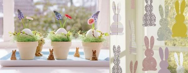 Как украсить дом к весне
