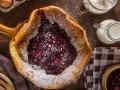 Рецепт на Масленицу: датский блинчик с ягодами