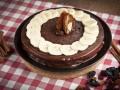 Как приготовить шоколадно-банановый торт на 8 марта