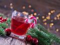 Новогодний коктейль с вишневым соком