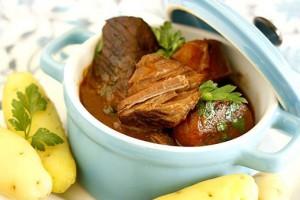 Рагу из телятины с картофелем