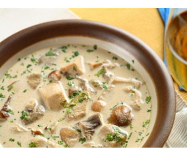 Рецепт                  Суп гречневый с курицей и грибами