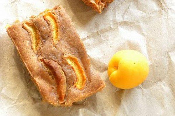Рецепт                  Простой пирог с абрикосами