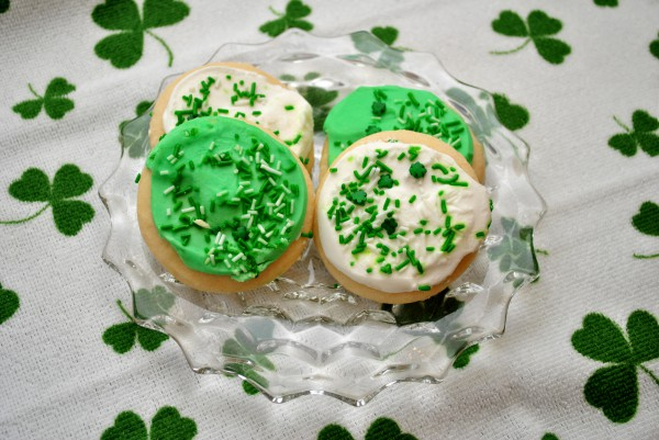 Рецепт                  День святого Патрика 2015: Печенье Трилистник