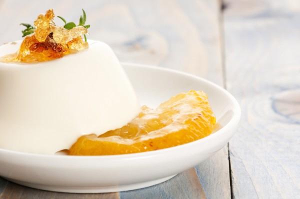 Рецепт                  Панна котта с манговым муссом