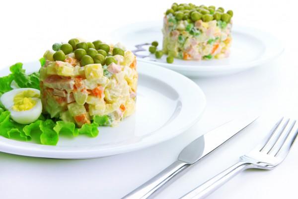Рецепт                  Летний салат Оливье