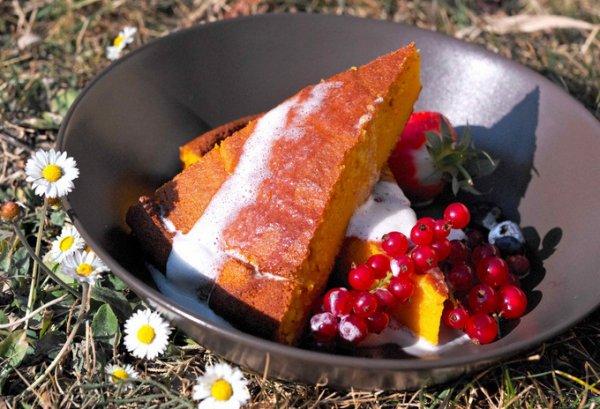 Рецепт                  Простой морковный пирог