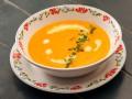 Морковный суп с имбирем и корицей