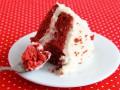 Торт Красный бархат с кремом из сливочного сыра