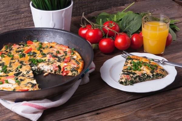 Итальянская фриттата с овощами