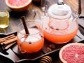 Осенний чай с грейпфрутом от Марты Стюарт