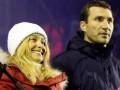 Невеста Владимира Кличко вышла на Евромайдан: Вы, украинцы, молодцы