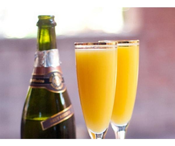Рецепт                  Шампанское с персиковым соком