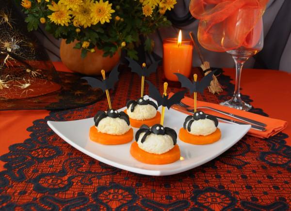 Рецепт                  Сырная закуска на Хэллоуин