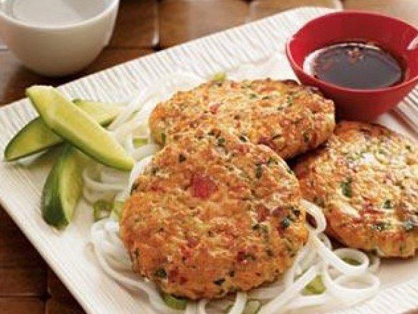 Рецепт                  Рыбные котлеты с кисло-сладким соусом