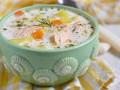 Как приготовить сливочный суп с копченой семгой