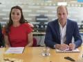 Принц Уильям и Кейт Миддлтон посетили благотворительный центр в Лондоне