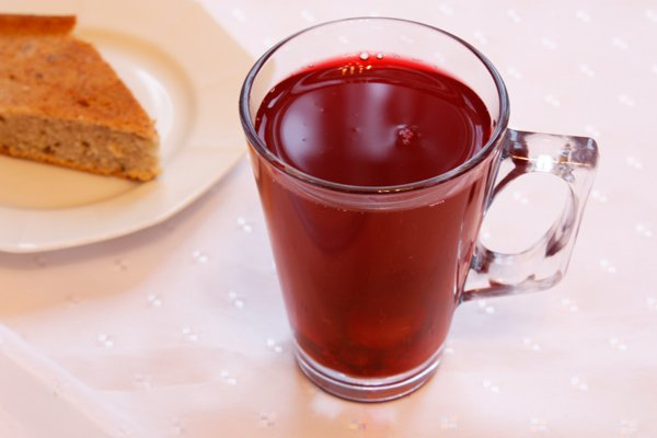 Рецепт                  Ягодный компот с медом