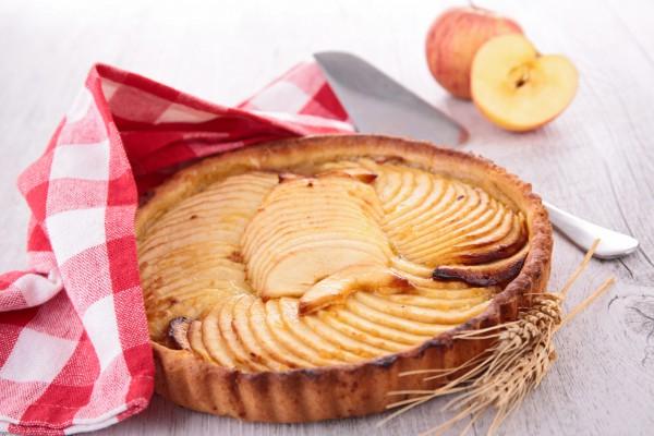 Рецепт                  Французский тарт с яблоками и корицей