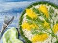Салаты на 8 марта: ТОП-5 рецептов в виде цветов