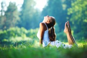 Йога помогает совершенствовать нашу фигуру