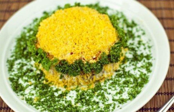 Рецепт                  ТОП-5 рецептов праздничных салатов к 8 марта