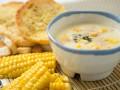 Сливочный суп с кукурузой: три вкусные идеи