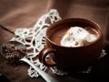 Горячий шоколад с лавандой