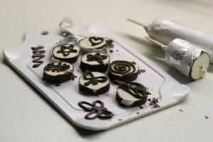 Украшения из шоколада