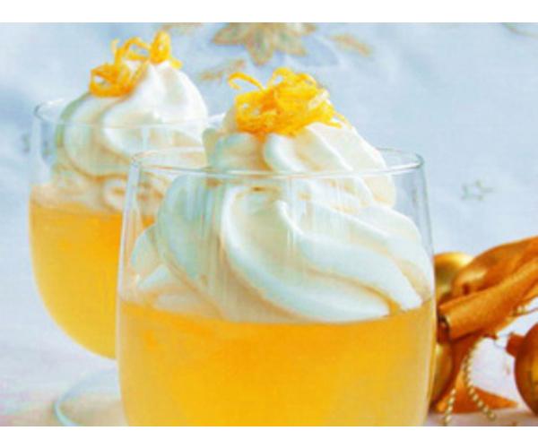 Рецепт                  Десерт из шампанского
